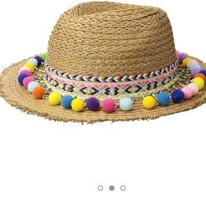 Betsey Johnson Shake Your Pom Poms Hat